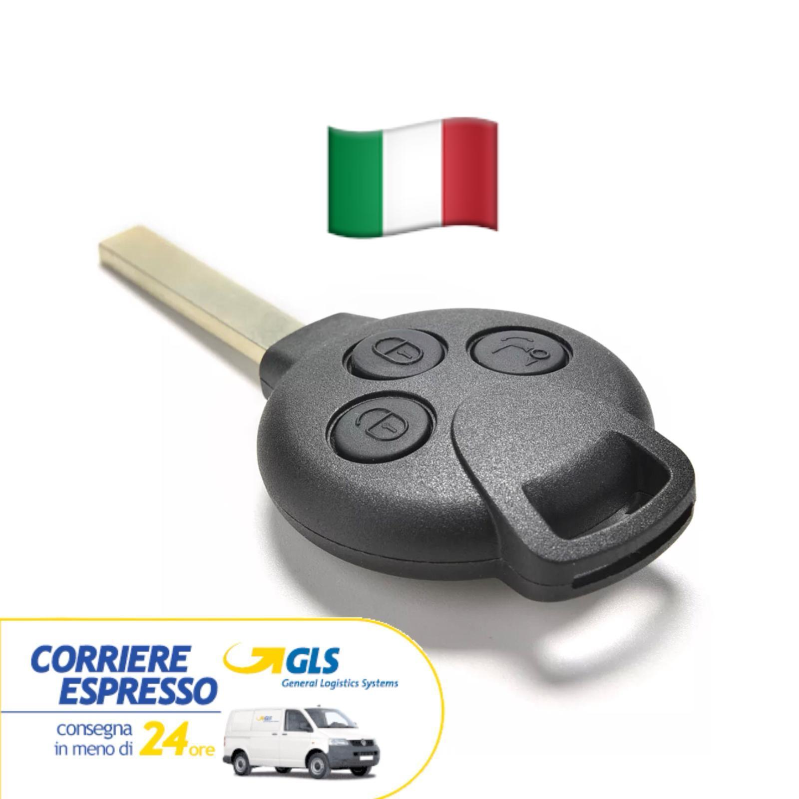 Custodia in silicone per chiave SMART fortwo 450 forfour 451 roadster